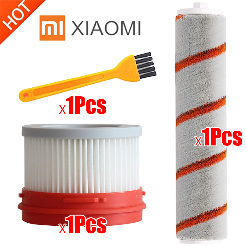 HEPA Filter For Xiaomi Dreame V9 Household Wireless Handheld Vacuum Cleaner Accessories Hepa Filter Roller Brush Parts Kit