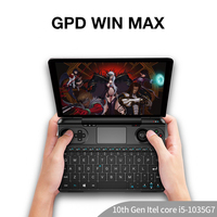 GPD Win Max Mini Handheld Windows 10 Video Game Console Gameplayer 8Inch Laptop UMPC Tablet PC intel core i5-1035G7