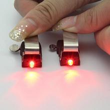 MTB Mini V światło rowerowe hamulca tylne światło rowerowe światło rowerowe led wysokiej jasności wodoodporna lampa akcesoria rowerowe 7 tanie tanio Bicycle Lights Kierownica Baterii 1PCs of CR1025 battery (included) Length 30mm width 16mm height 31mm