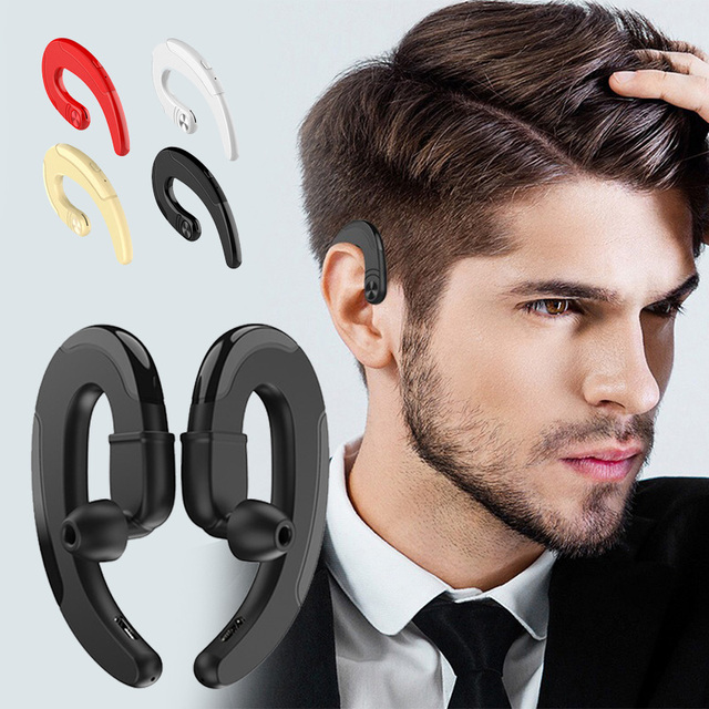 HBQ Q25 TWS Bone Conduction Ear hook Wireless Headphones With Microphone Bluetooth Earphone Headsets For IPhone