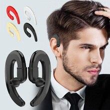 HBQ Q25 TWS Conduction osseuse oreille crochet casque sans fil avec Microphone Bluetooth écouteurs casques pour IPhone