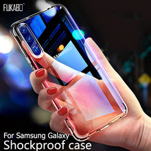 Case untuk Samsung Galaxy A50 A70 A30 A20 A10 A60 A90 A80 A51 A71 A21 A11 A41 A81 A91 S8 s9 S10 S10e S7 Edge S20 Note 8 9 10 Plus(China)