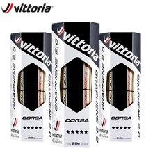 Vittoria Corsa конкуренции графеновой батареи 2,0 для велосипедных шин 700 x 25C/28/30C светло-коричневые 320 ТПИ вело шина для дорожного велосипеда Запчас...