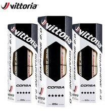 Vittoria corsa competição grafeno 2.0 pneu de bicicleta 700 x 25c/28/30c tan 320 tpi cycing estrada peças de pneus de bicicleta