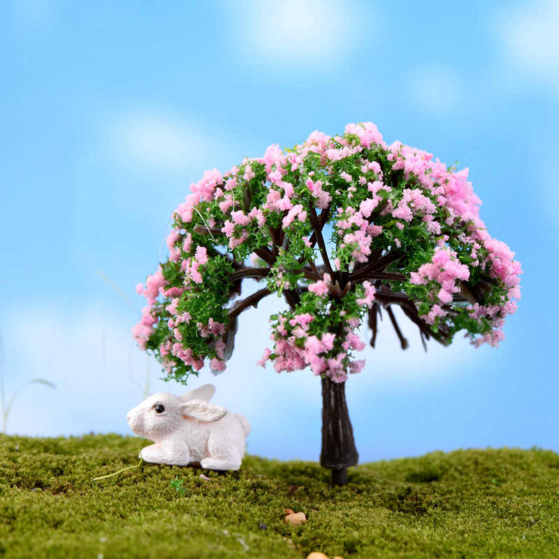 1pc Resin Miniature Fairy Garden Decoration Craft Micro Landscape Decor PICK
