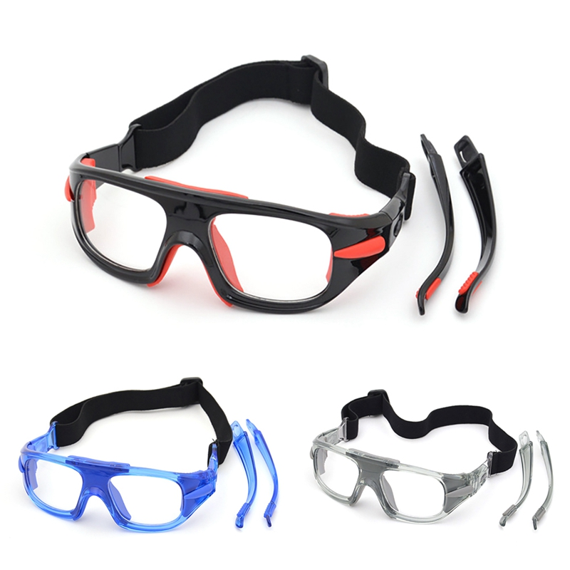 UIO Sport Glasses Adjustable Explosion proof Windproof Dust proof Anti fog Safety Goggles Protective Eyewear For Basketball|Cycling Eyewear| |  - title=