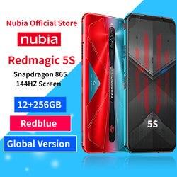 Оптовая продажа, оригинальный красный телефон, игровой смартфон, 12 Гб ОЗУ, 256 Гб ПЗУ, Redmagic, Snapdragon 865, NFC, 6,65 дюйма