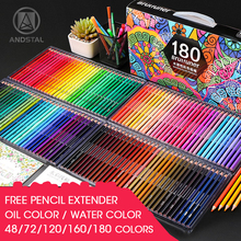Color-Pencil-Set Watercolor Professional-Oil Drawing-Colored Kids Andstal 72/120/160/180