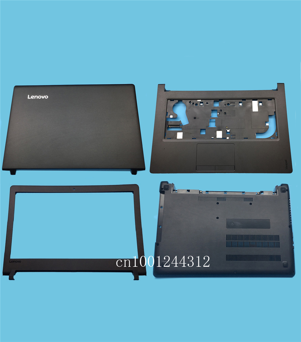 New For Lenovo ideapad 110-14 110-14ISK Tianyi 310-14 310-14ISK LCD Back Cover / Bezel / Palmrest Bottom Base