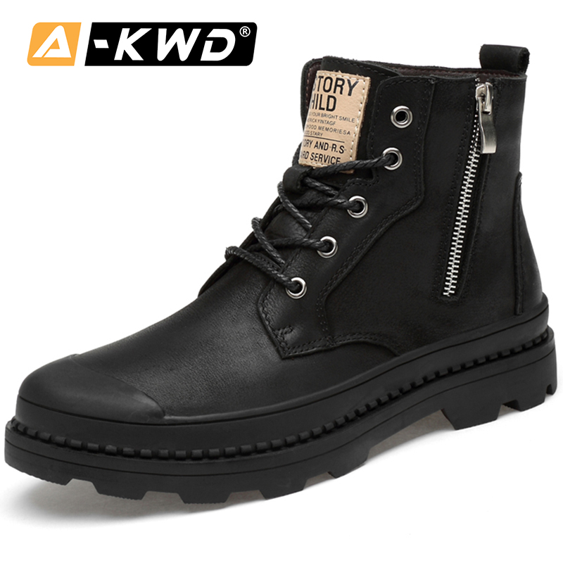 2019 Fashion Fur <font><b>Men</b></font> <font><b>Winter</b></font> Boots Plus Size 37-47 Working <font><b>Shoes</b></font> Man Safety Casual <font><b>Mens</b></font> <font><b>Winter</b></font> Footwear Zipper <font><b>Men</b></font> <font><b>Shoes</b></font> Sneakers image