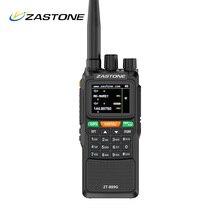 ZASTONE 889G GPS Walkie Talkie 10W 999CH 3000mAh UHF 400 520/VHF136 174MHz CB วิทยุ HF Transceiver สำหรับสำรวจ Hunting