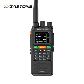 Zastone 889G GPS Walkie Talkie 10W 999CH 3000mAh UHF 400-520 / VHF136-174MHz Ham CB Radio HF Transceiver for Explore Hunting 2pcs quansheng tg uv2 plus walkie talkie 10km 10w 4000mah ham radio uhf vhf radio ham hf transceiver cb radio tg uv2 2 way radio