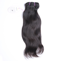 DHL Free Shipping  3pcs/lot 5A  Brazilian virgin hair  body wave machine hair weft