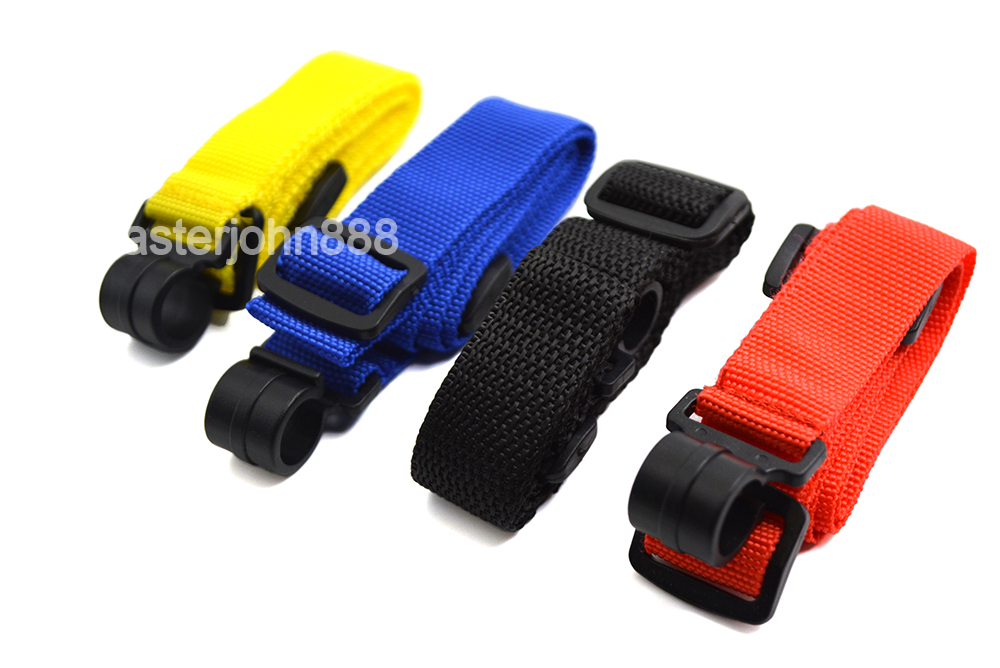 4-Color Ukulele Strap Lanyard Snap Nylon Strap With Hook Fit For 21