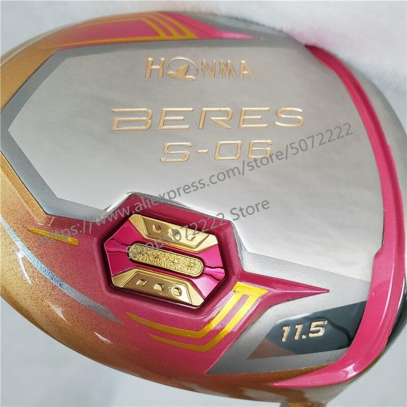 Nouveau femmes Golf clubs HONMA S-06 4 étoiles couleur or Golf pilote 11.5 loft Graphite L flex pilote Clubs livraison gratuite