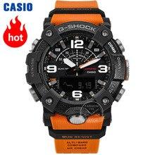 Часы Casio G-SHOCK кварцевые умные часы с защитным сердечником из углеродистой стали 200 Водонепроницаемые спортивные мужские часы Relogio Masculino
