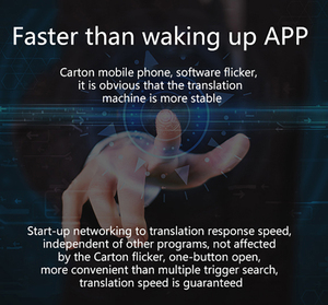 Image 3 - T9 + çevrimdışı taşınabilir akıllı ses çevirici çok dilli anında çevirmen iş seyahat arası çeviri makinesi