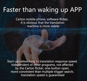 Image 3 - T9 + حاليا المحمولة الذكية صوت مترجم متعدد اللغات الفورية مترجم الأعمال السفر بين الترجمة آلة