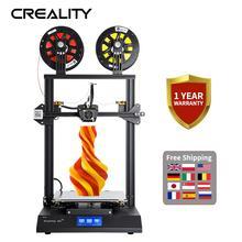 Creality 3D CR X כפולה צבע אופציונלי 4.3 אינץ מגע מסך 3D מדפסת שני קירור מאוורר עם 2KG משלוח PLA נימה