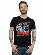 เสื้อผ้า ABSOLUTE CULT ROB Zombie Mens Zombie CRASH T เสื้อ 7024(China)