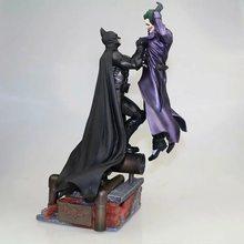 Diorama – Figurine articulée Batman VS Joker, jouet, 300mm, Diorama