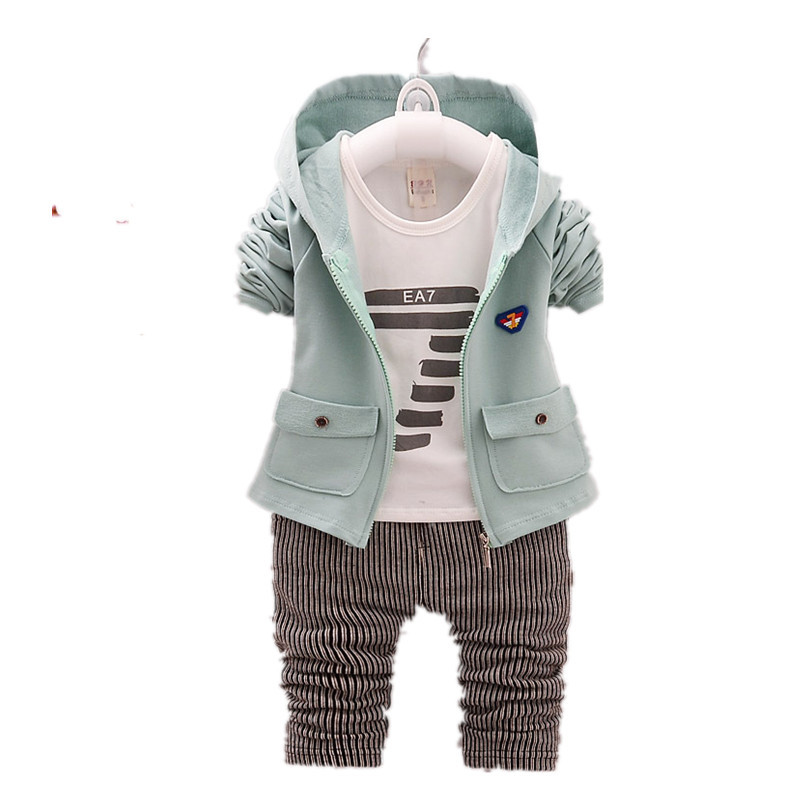 2019 Spring And Autumn Children's Clothing Sets Baby Clothes Cotton Products 3 Pieces Sets Boys And Girls Clothing Kids Clothes