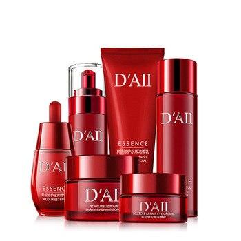 Skin Care Set Face Toner Essence Eye Cream Lotion Facial Cleanser Serum Nicotinamide Nourish Anti-Aging Cosmetics Kit Women M 5
