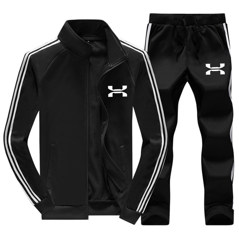 Brand Clothing Men's Autumn winter Hot Sale Men's Sets Jacket+pants Two Pieces Sets Casual Tracksuit Male Sportswear 2020 New