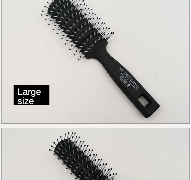 Não machuca o cabelo do couro cabeludo
