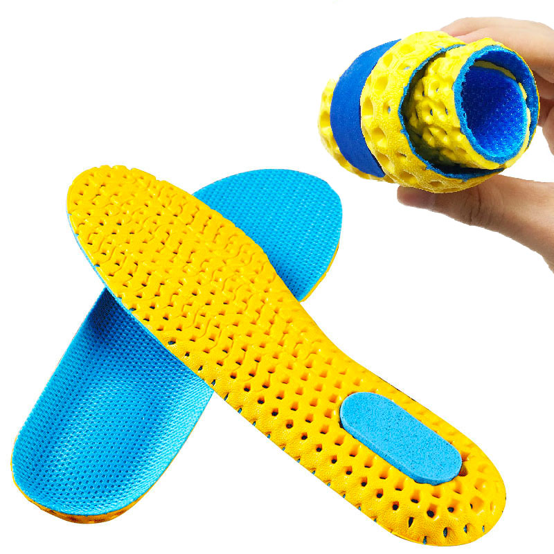 Sport Insoles For Shoes Sole Mesh Breathable Cushion Deodorant Running Insoles For Feet Man Women Orthotic Insoles Memory Foam
