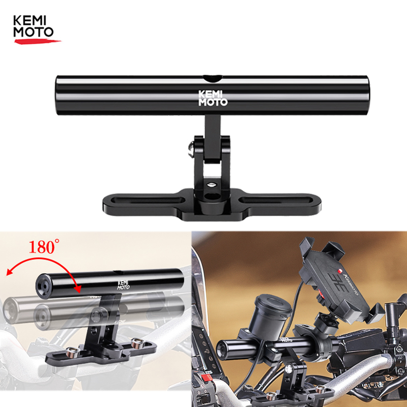 Motorcycle Extension Bracket CNC Scooter/Sport-bike/<font><b>GPS</b></font> Multi-function Bracket <font><b>For</b></font> <font><b>BMW</b></font> R1200GS <font><b>For</b></font> Yamaha TMAX <font><b>530</b></font> MT09 MT07 image