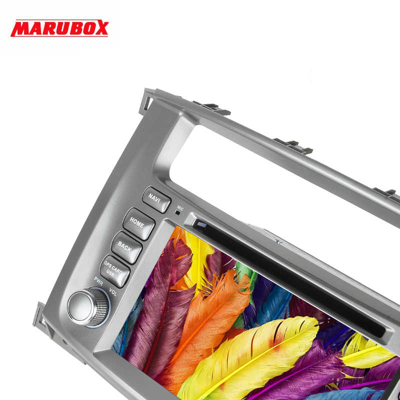 "Marubox 7A112PX5 DSP, reproductor Multimedia para coche para Toyota Land Cruiser 2002-2007, unidad principal de 8 núcleos, 7 ""IPS pantalla 64GB Android 9"