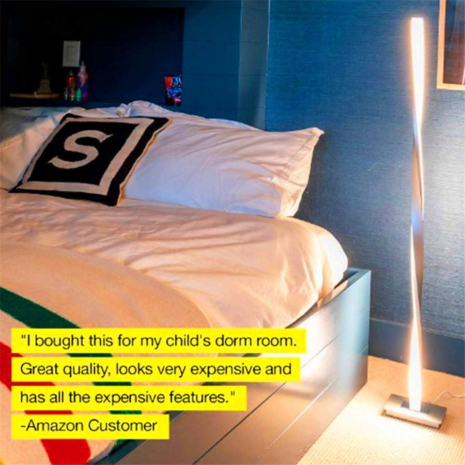 Moderno led lâmpadas de assoalho iluminação sala
