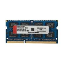 Yongxinsheng 2GB 4GB DDR3L 8GB DDR3L 1600MHz PC3L-12800 Non-ECC 1.35V CL11 204 Pin SODIMM Laptop Notebook Memory Ram