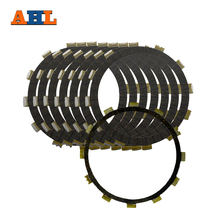 Ahl 8 шт Комплект тормозных пластин Сцепления Мотоцикла Для