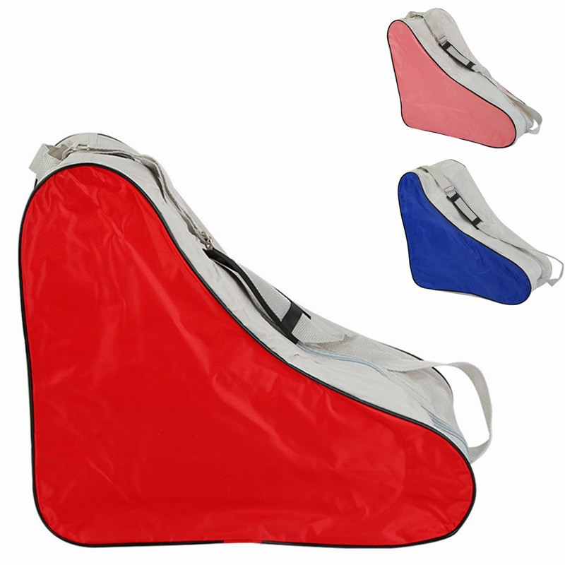 Adjustable Roller Skating Bag Outdoor Sport Covers Handbags Durable Portable Triangle Shoulder Strap Skates Cover Bag