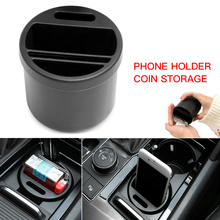 Car SUV Seat Gap Mini Storage Box Organizer Coin Phone Cup Holder Multifunction Car Interior  Accessories black car auto interior plastic coin case storage box holder container organizer