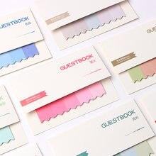 100 страниц симпатичный kawaii блокнот для записей клейкие заметки