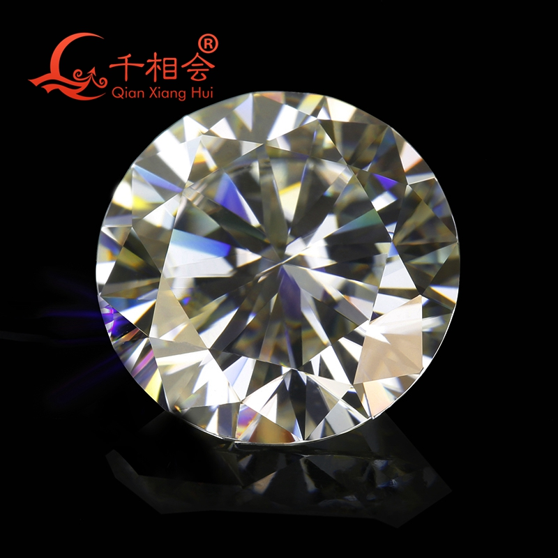 3mm To 12mm IJ Color White Round Brilliant Cut Moissanite Loose Stone