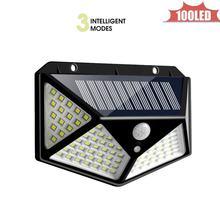 Наружная модель 100 светодиодный настенный светильник на солнечных