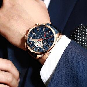 Image 5 - CURREN Fashion Creative Chronograph Men Watches Sports Business Wrist Watch Stainless Steel Quartz Male Clock Reloj Hombre