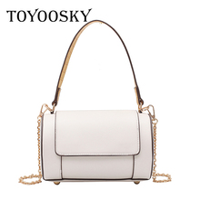 TOYOOSKY Women Ladies PU Leather Mini Handbag Small barrel-shaped Shoulder Bag Messenger Crossbody Female Handbags and Purses