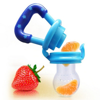 Baby Bite Pacifier Fruits Vegetable Meat Food Supplements Silicone Baby Feeder