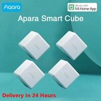 Aqara Magie Cube Controller Zigbee Version Gesteuert durch Sechs Aktionen app mi hause Für Xiaomi Smart Home Gerät Smart Buchse
