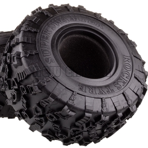 "Image 2 - NEW ENRON 4P 2.2"" Super Swamper Rocks 132MM Tyre Tires For RC 1/10 Climbing Rock Crawler 1:10  RR10 Wraith TRX 4 TRX4 KM2 YETI"