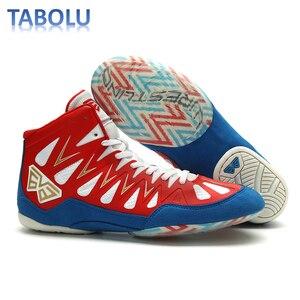 Боксерские кроссовки для мужчин и женщин, легкие Нескользящие удобные, обувь для тренировок, обувь для борьбы, Размеры 35-45