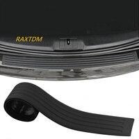 Car Rear bumper rubber scuff trim for Skoda Octavia A2 A5 A7 Fabia Rapid Superb Yeti Roomster