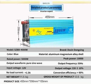 Image 2 - 5000W Nguyên Chất Sóng Sin Inverter DC12V/24V/36V/48V Để AC110V/AC220V 50Hz/60Hz Tăng Công Suất 10000W
