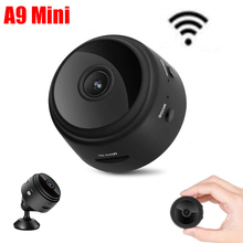 A9 Mini Camera 2.4G Wireless Wifi 1080P HD Night Vision Wireless Camera WiFi Home Security Camcorders Phone APP Remote Monitor dc s1 new solar mobile phone remote wifi monitoring smart security 1080p hd night vision camera wireless camera