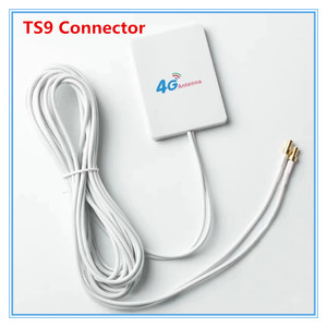 3G 4G External Antennas for Huawei E5573 E5372 E5776 E5377 E5577 E8372 E5878 E398 28dbi TS9 4G LTE Router Antenna with 3m cable(China)